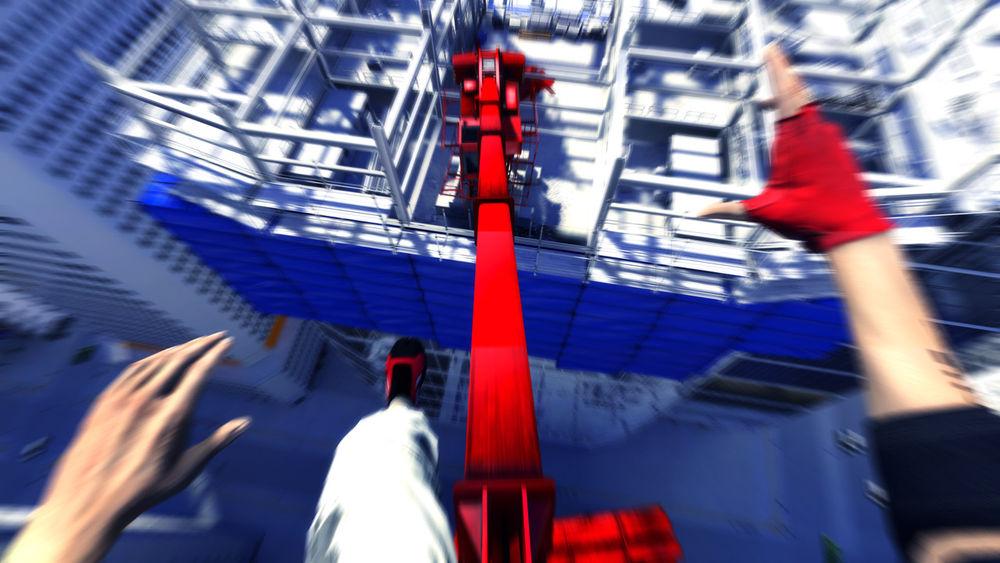 Скриншоты к Mirror s Edge.
