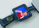 Ремешок для ношения мобильного телефона на шее с фоторамкой (синий) — фото, картинка — 2