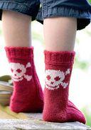Вяжем два носка одновременно. Круговые спицы — фото, картинка — 6
