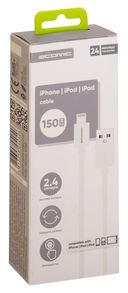 Кабель Atomic C-01i iphone/ipad 8-pin (белый) — фото, картинка — 1