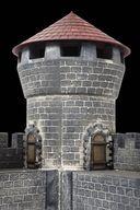 Средневековый каменный замок (масштаб: 1/72) — фото, картинка — 5