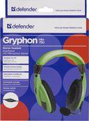 Гарнитура Defender Gryphon 750 (зеленая) — фото, картинка — 3