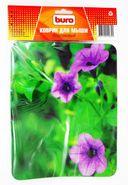 Коврик для мыши Buro BU-M20012 (рисунок/цветы) — фото, картинка — 1