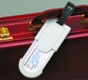 Бирка для багажа (белая) — фото, картинка — 2
