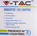 Светодиодная лампа V-TAC VT-2099 9 ВТ, А60, Е27, 2700К — фото, картинка — 3