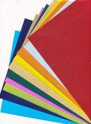 Бумага цветная лакированная