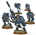 Warhammer 40.000. Space Marines. Scouts with Sniper Rifles (48-29) — фото, картинка — 2