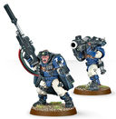 Warhammer 40.000. Space Marines. Scouts with Sniper Rifles (48-29) — фото, картинка — 3