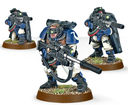 Warhammer 40.000. Space Marines. Scouts with Sniper Rifles (48-29) — фото, картинка — 4