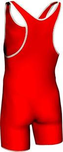 Трико борцовское MA-401 (р. 48; красное) — фото, картинка — 1