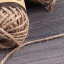 Шнур декоративный (коричневый; 10 м) — фото, картинка — 2