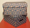 Набор коробок (2 шт.; голубой) — фото, картинка — 2